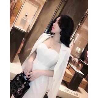 Áo vest kèm đầm body xịn sò thời trang thiết kế cực sang chảnh - CHIA61 thumbnail