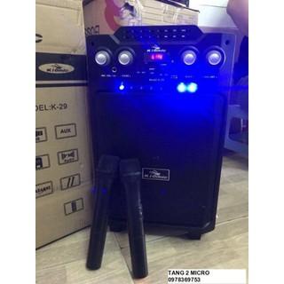 Loa Blutooth karaoke vali kéo hát siêu hay pin 5h - BX2FS thumbnail