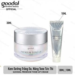 Kem ốc sên dưỡng trắng da và nâng tone da Goodal Premium Snail Tone-Up CreaM - 1785837731 thumbnail