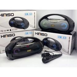 Loa bluetooth Kimiso S1, S2 hỗ trợ radio và nhiều tính năng khác, có kèm Micro