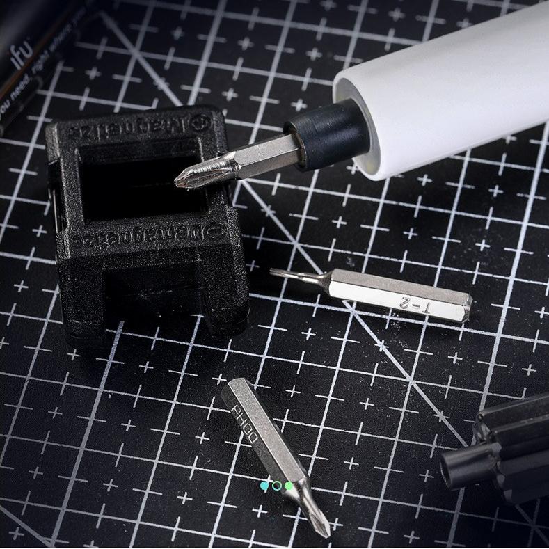Hot Vít Điện Mini Tam Giác LAPTOP Tháo Lắp Kê Điện Thoại Dụng Cụ Sửa Chữa đa năng nhỏ gọn cho thợ điện tử chuyên nghiệp - VDMNI 2