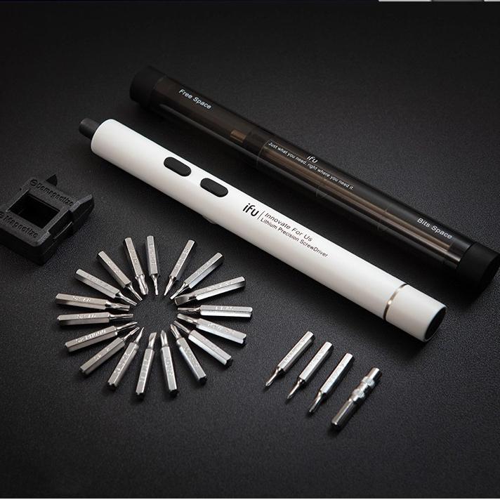 Hot Vít Điện Mini Tam Giác LAPTOP Tháo Lắp Kê Điện Thoại Dụng Cụ Sửa Chữa đa năng nhỏ gọn cho thợ điện tử chuyên nghiệp - VDMNI 9