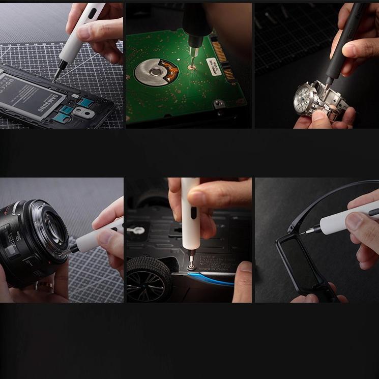 Hot Vít Điện Mini Tam Giác LAPTOP Tháo Lắp Kê Điện Thoại Dụng Cụ Sửa Chữa đa năng nhỏ gọn cho thợ điện tử chuyên nghiệp - VDMNI 5