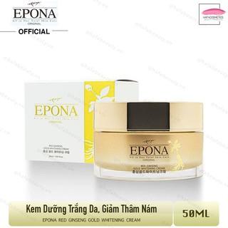 Kem Hồng Sâm Dưỡng Trắng da Giảm Thâm m Epona Red Ginseng Gold Whitening Cream 50ml - 6948220877 thumbnail