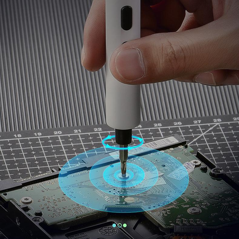 Hot Vít Điện Mini Tam Giác LAPTOP Tháo Lắp Kê Điện Thoại Dụng Cụ Sửa Chữa đa năng nhỏ gọn cho thợ điện tử chuyên nghiệp - VDMNI 18