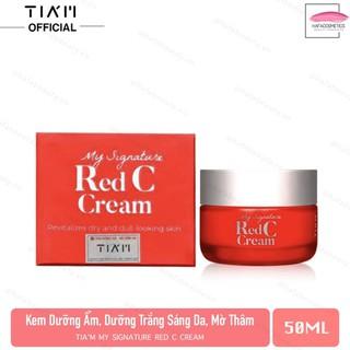 Kem dưỡng vitamin C dưỡng trắng da làm mờ thâm Tiam My Signature Red C Cream 50ml - 4210909507 thumbnail