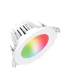 Bộ đèn LED Downlight thông minh Điện Quang Apollo ĐQ SLRD04 05765 90 BR01 (5W, daylight, 3.5 inch, kết nối Bluetooth, điều khiển sắc màu RGB) TK
