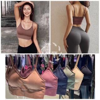 Áo Bra Lót Ngực Thể Thao Nữ Đa Năng Tập Gym Yoga Phối Đồ Cá Tính - 5800163754 thumbnail