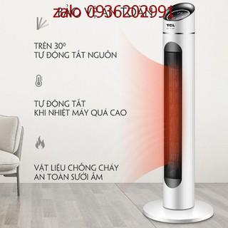 Quạt sưởi điện-máy sưởi điện gia đình TCL có điều khiển từ xa - Quạt sưởi điện316 thumbnail