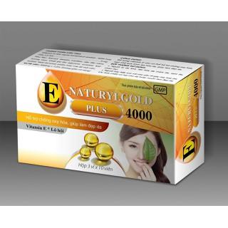 Viên uống đẹp da Vitamin E , lô hội Naturyl gold 4000mcg, làm đẹp da, chống lão hóa, ngừa nếp nhăn - Hộp 30 viên dùng 1 tháng - Vitamin E , lô hội Naturyl gold 4000mcg thumbnail