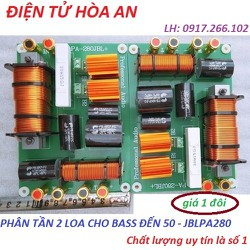 BỘ PHÂN TẦN 2 LOA CHO BASS ĐẾN 50 - JBLPA280 - GIÁ 2 MẠCH