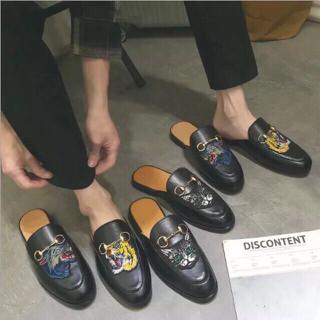 Giày Sục Nam Da Bò Cao Cấp G200 - 6RRsFOoQP1gFQhtsc4ak thumbnail