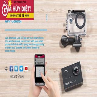 Camera Hành Động 16MP Hỗ Trợ Mic Ngoài Máy Ảnh Chụp Dưới Nước Điều Khiển từ xa Wifi Máy Camera với 2 pin và Phụ Kiện Lắp Đặt Bộ - 875432345677d thumbnail