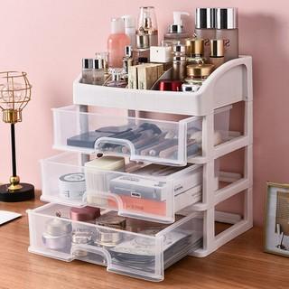 Tủ đựng mỹ phẩm 4 tầng 3 ngăn kéo - Kệ mỹ phẩm - Tủ đựng mỹ phẩm 4 tầng 3 ngăn kéo thumbnail