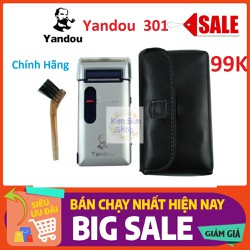 Máy Cạo Râu Chất Lượng Cao Yandou 301 Pin Sạc Chính Hãng[ Video Ảnh Thật ][ Bảo Hành 12 Tháng ]