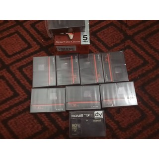combo 13c video cassette dvc 60 mới - dvc mới thumbnail