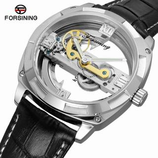 Đồng hồ cơ nam lộ máy Forsining F207 Automatic máy trong suốt dây da - F207 thumbnail