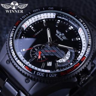 Đồng hồ nam Winner A466 máy cơ kiểu dáng thể thao chạy full kim - A466 thumbnail