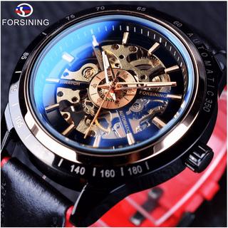 Đồng hồ nam Forsining A1 cơ lộ máy dây da kiểu dáng thể thao - Forsining A1 thumbnail