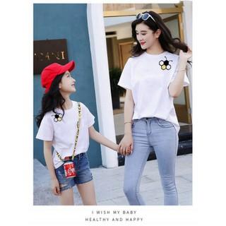 [ Siêu SALE ][ Cho Xem Hàng ] áo thun mẹ và bé in hình LOGO CON ONG cực đẹp cực [ HOT ] chỉ có tại thời trang FanTom - áo thun mẹ và bé 02 thumbnail