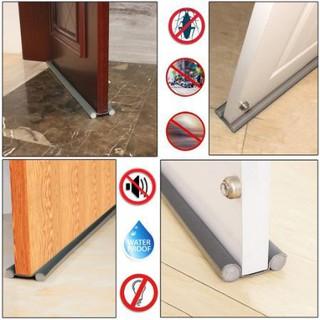 Ron đệm khe cửa chặn tiếng ồn gió bụi côn trùng tránh kẹt chân - 6736388296 thumbnail