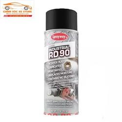 Sản phẩm bôi trơn chống rỉ sét kim loại trong công nghiệp máy móc Sprayway Industrial RD90 SW-090 312g chamsocxestore