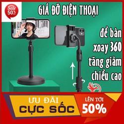 [LOẠI BỀN] Giá đỡ đế đỡ kẹp điện thoại để bàn đa năng xem phim video livestream xoay 360 độ chắc chắn tiện lợi ,Kệ Giá Đỡ Điện Thoại [Hàng Xịn] dùng để livestream xem video Quay Phim Ghi Hình Đa Dụng, Ổn Định Xoay 360 Độ Tiện Lợi