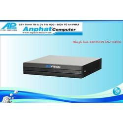 Đầu ghi hình 4 kênh 5 in 1 KBVISION KX-A7104SD6 Bảo Hành 12 Tháng