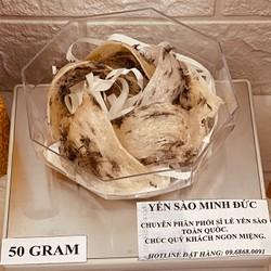 Tổ yến sào thô làm quà 50 gram Kèm đồ chưng