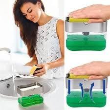 Hộp đựng dầu rửa bát chén - Tặng kèm miếng rửa - 5467639122 4
