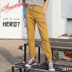 Big size, Quần jogger kaki nam cao cấp, sắc màu trẻ trung, phong cách thể thao cá tính, gấu quần bo chun