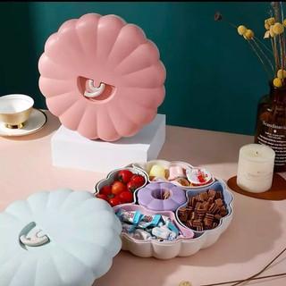Khay Đựng Mứt, Bánh, Kẹo, Trái Cây Ngày Tết Hình Quả Bí Đáng Yêu - Khay Mứt Hình Quả bí thumbnail