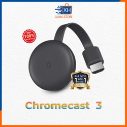 Thiết bị stream TV Google Chromecast 3 – BH 12 Tháng – Hàng chính hãng – New 100%