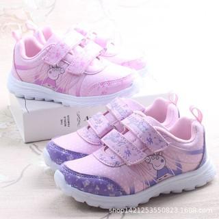 giày thể thao cho bé gái có in hình heo peppa