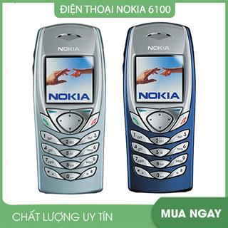 Điện thoại Cổ Nokia 6100 Chinh Hang