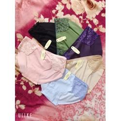 10 quần lót nữ thun cotton mền, mát , SIZE 47- 65 KG