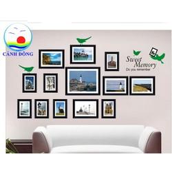 Decal dán tường bộ ảnh địa điểm du lịch nổi tiếng thế giới