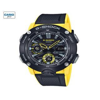 Đồng hồ nam Casio dây nhựa G-Shock GA-2000-1A9DR - Dây nhựa - Pin - 49mm - GA-2000-1A9DR thumbnail