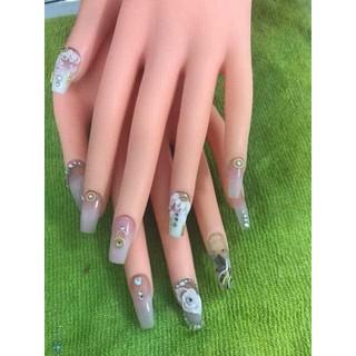 Bàn tay giả thực hành làm móng, làm nail - 6905765938 thumbnail