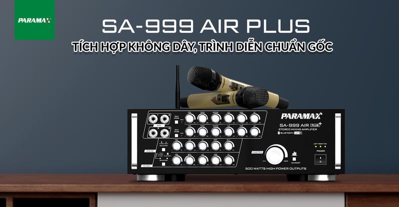 Amply Paramax-SA 999 AIR PLUS - Hàng Chính Hãng - SA999PLUS 4