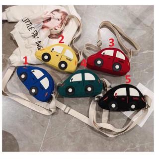 Túi đeo chéo hình xe ô tô cho bé - Túi đeo chéo hình xe ô tô cho bé thumbnail