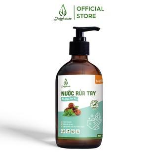 Nước rửa tay hữu cơ chiết xuất Bồ Hòn và tinh dầu Bạc Hà 500ml JULYHOUSE sạch khuẩn, khử mùi - HAND.SOAP-PPM500 thumbnail
