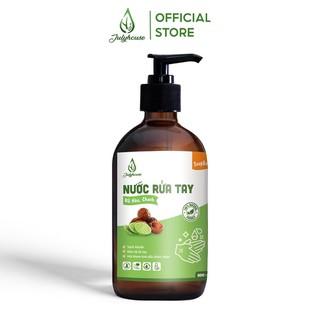 Nước rửa tay diệt khuẩn chiết xuất trái Bồ Hòn và tinh dầu Chanh nguyên chất 500ml Julyhouse - HAND.SOAP-LEMON500 thumbnail