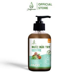 Nước rửa tay hữu cơ chiết xuất Bồ Hòn và tinh dầu Bạc Hà 250ml JULYHOUSE sạch khuẩn, khử mùi - HAND.SOAP-PPM250 thumbnail