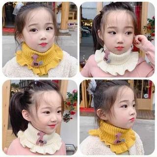 Khăn ống len quàng cổ cao cấp cho cho bé gái - Khăn ống len quàng cổ cao cấp cho cho bé gái thumbnail