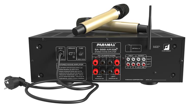 Amply Paramax-SA 999 AIR PLUS - Hàng Chính Hãng - SA999PLUS 2