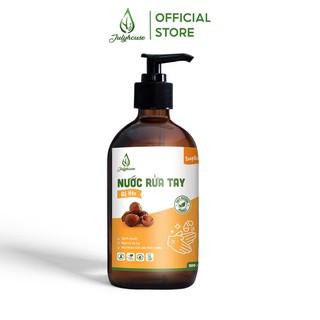 Nước rửa tay Bồ Hòn 500ml JULYHOUSE sạch khuẩn, bảo vệ sức khỏe - HAND.SOAPBERRY500 thumbnail
