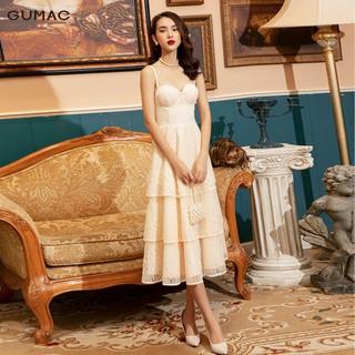 Đầm Luxury cúp ngực ren tầng GUMAC DVB1177 - DVB1177 thumbnail