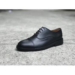 Giày tây nam da bò cao cấp công sở oxford captoe