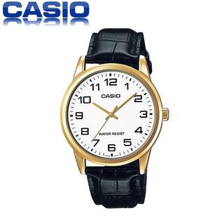 Đồng hồ nam Casio MTP-V001GL-7BUDF dây da chính hãng - MTP-V001GL-7BUDF thumbnail